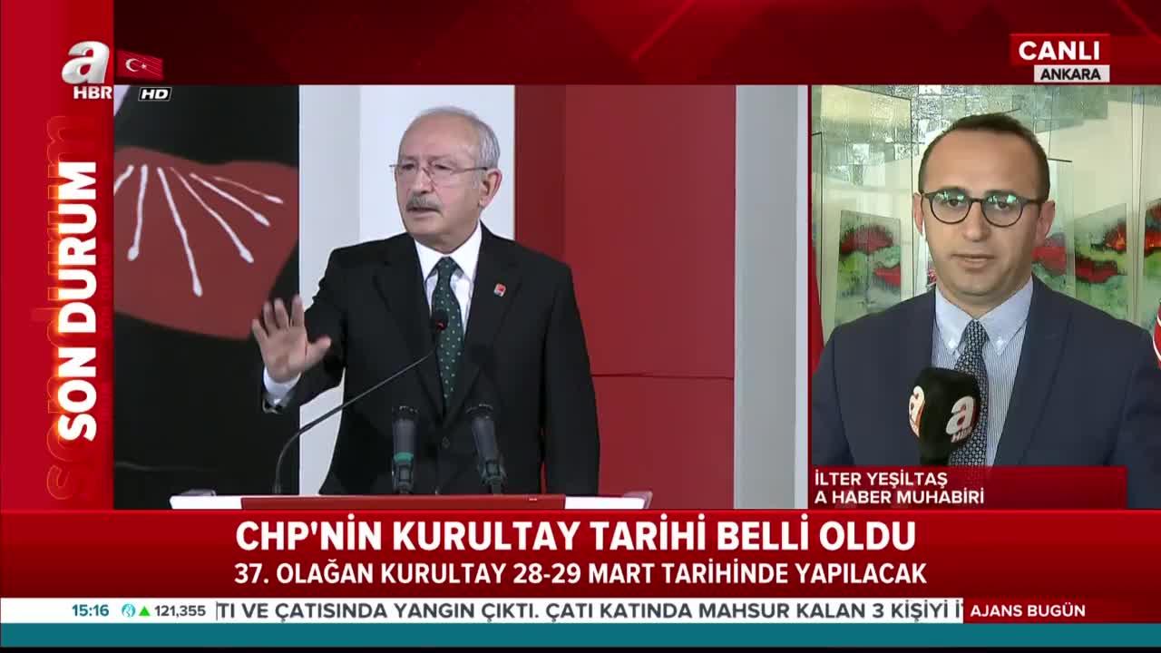 Son dakika: CHP'nin 37. Olağan Kurultay tarihi belli oldu