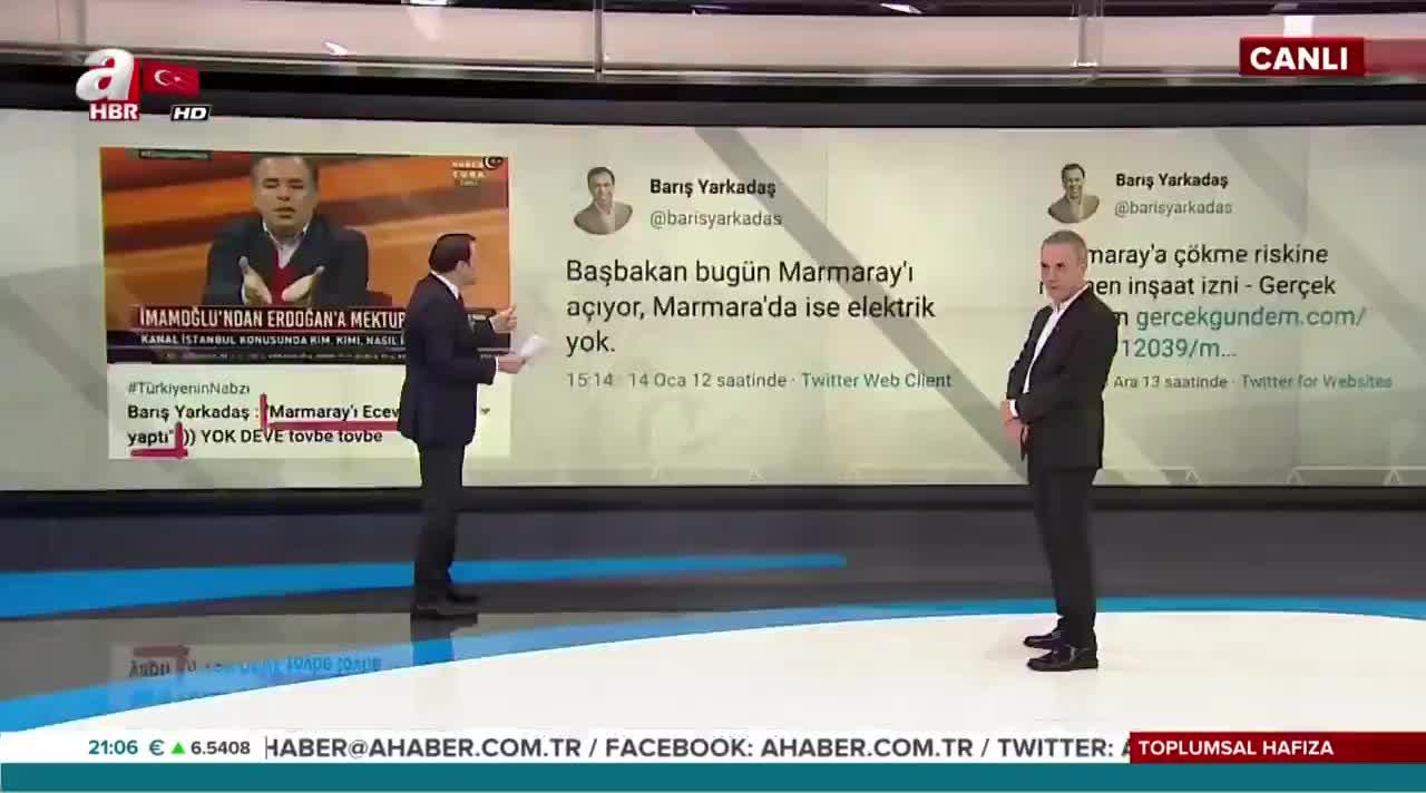 Barış Yarkadaş'tan 'pes' dedirten Marmaray çıkışı