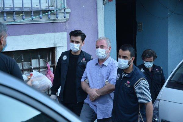 İstanbul'da PKK operasyonu! Beyoğlu İlçesi HDP Eş Başkanı Mehmet Sait Bor gözaltına alındı