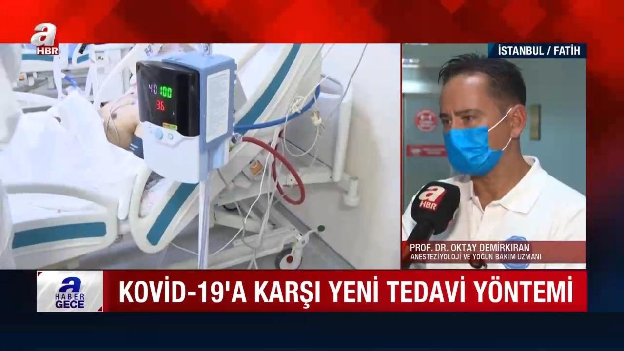 Kovid-19a karşı yeni tedavi yöntemi: ECMO