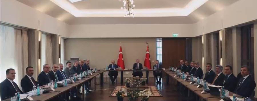 Son dakika: Ahlatta valiler toplantısı | Başkan Erdoğan bölge valileri toplantısına liderlik etti