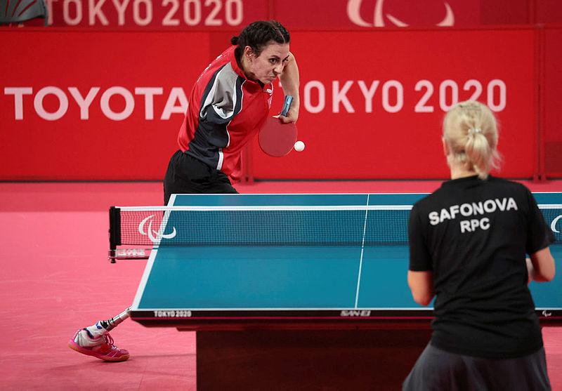 Ali Öztürk ve Kübra Korkut 2020 Tokyo Paralimpik Oyunlarında bronz madalya kazandı