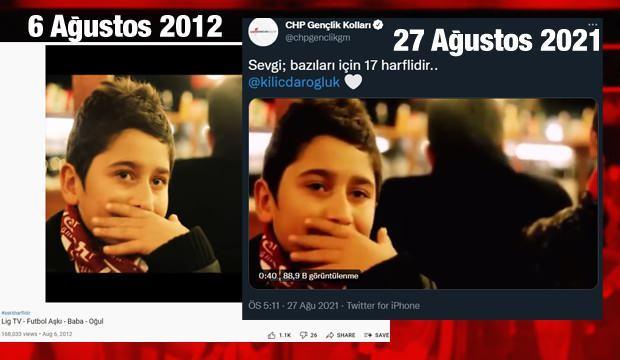 CHP Gençlik Kollarının Sevgi bazıları için 17 harflidir videosu çalıntı çıktı! Tepki yağdı: Ajansınız bile beceriksiz