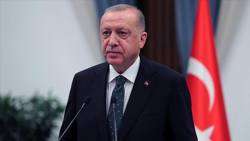 Başkan Erdoğandan Sivas Kongresi'nin 102. yıl dönümü mesajı