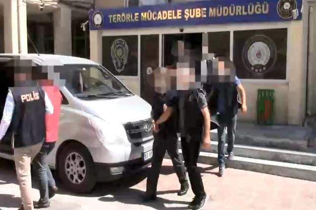 Terör operasyonunda gözaltına alınan 5 zanlı tutuklandı
