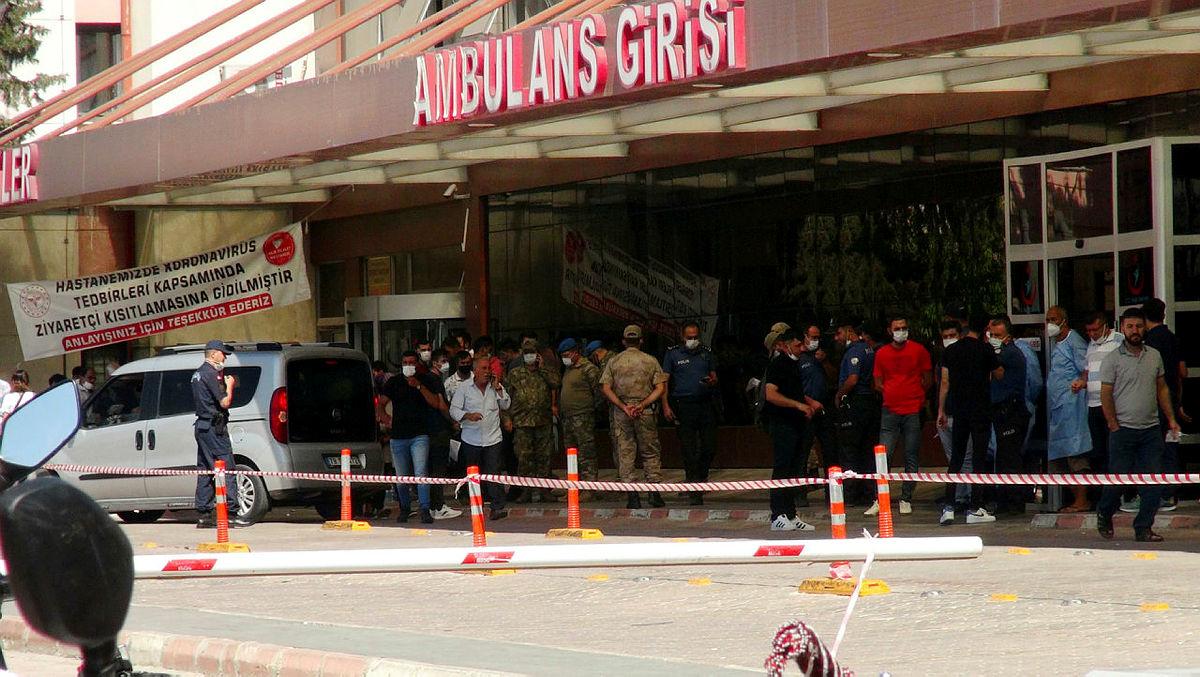 El Babda üs bölgesine alçak saldırı! 1 şehit 4 yaralı