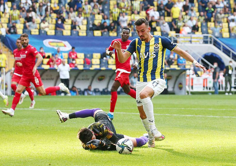 Fenerbahçe 1- Sivasspor 1 (MAÇ SONUCU ÖZET)