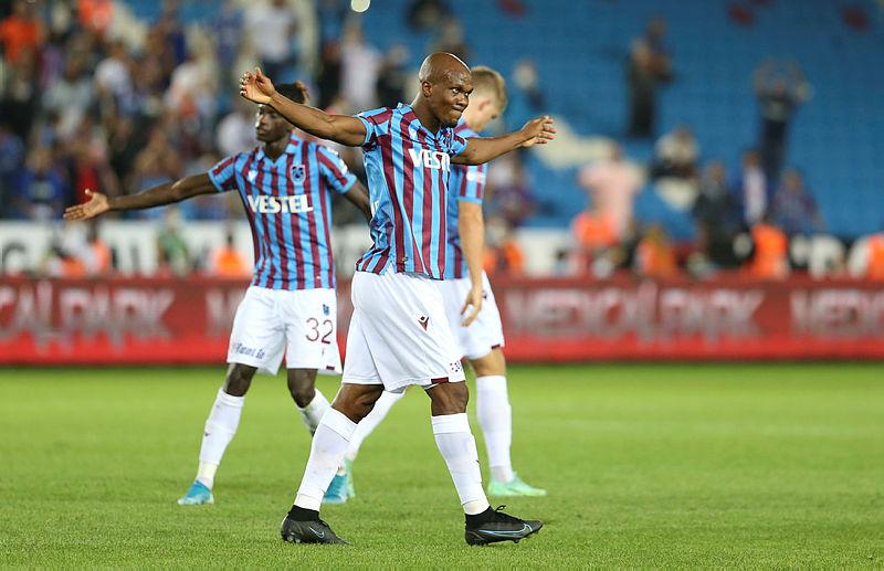 Trabzonsporun forvetteki istikrarı Nwakaeme