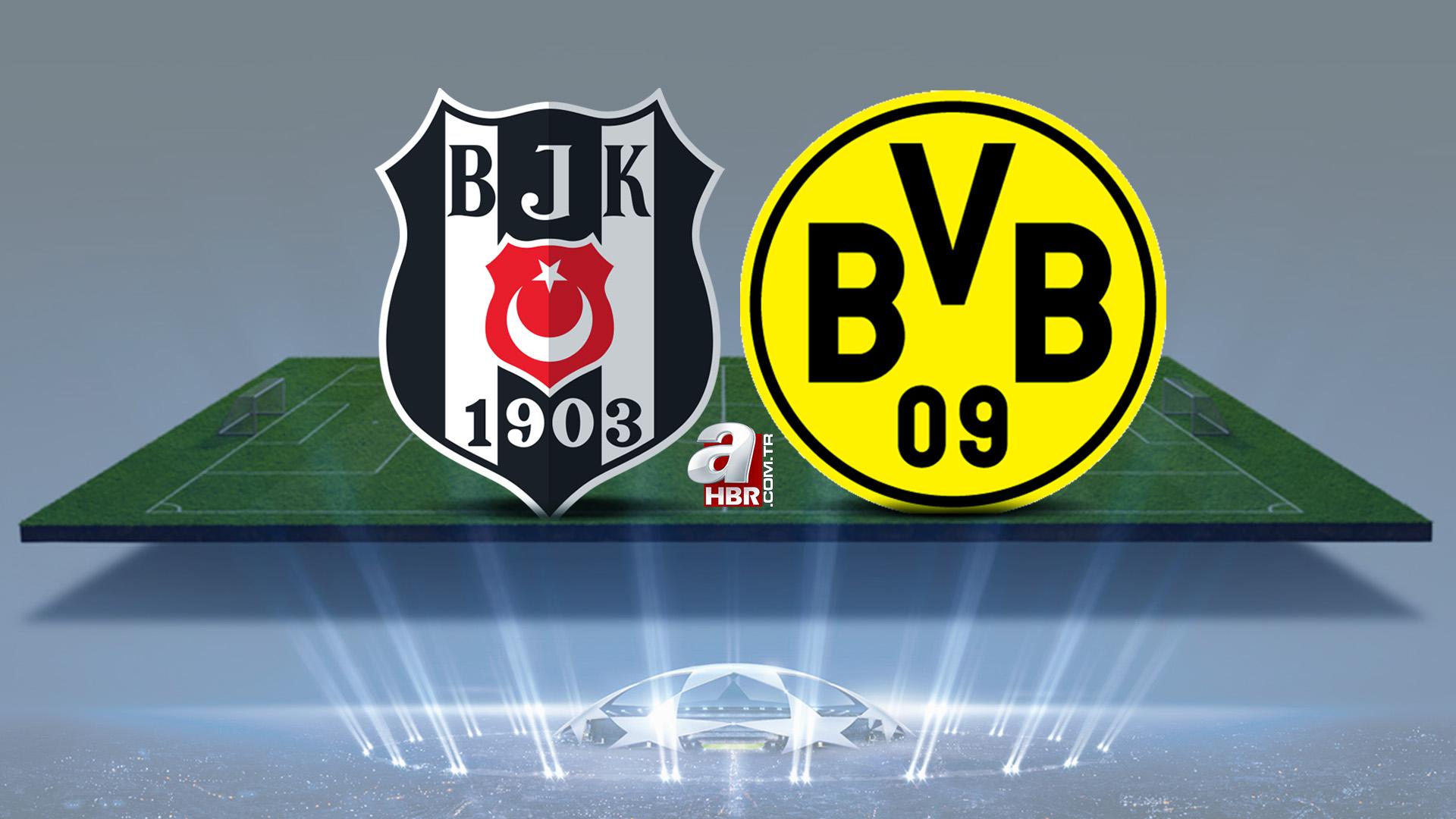 Beşiktaş Borussia Dortmund maçı ne zaman, saat kaçta? 2021 BJK Dortmund maçı hangi kanalda, şifreli mi?