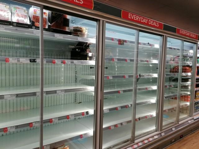 İngilterede gıda kıtlığı yeniden gündemde