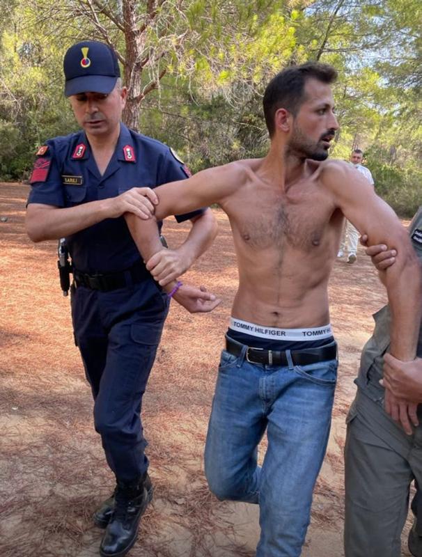 Son dakika: Manavgatta ormanı yakarken suçüstü yakalandı