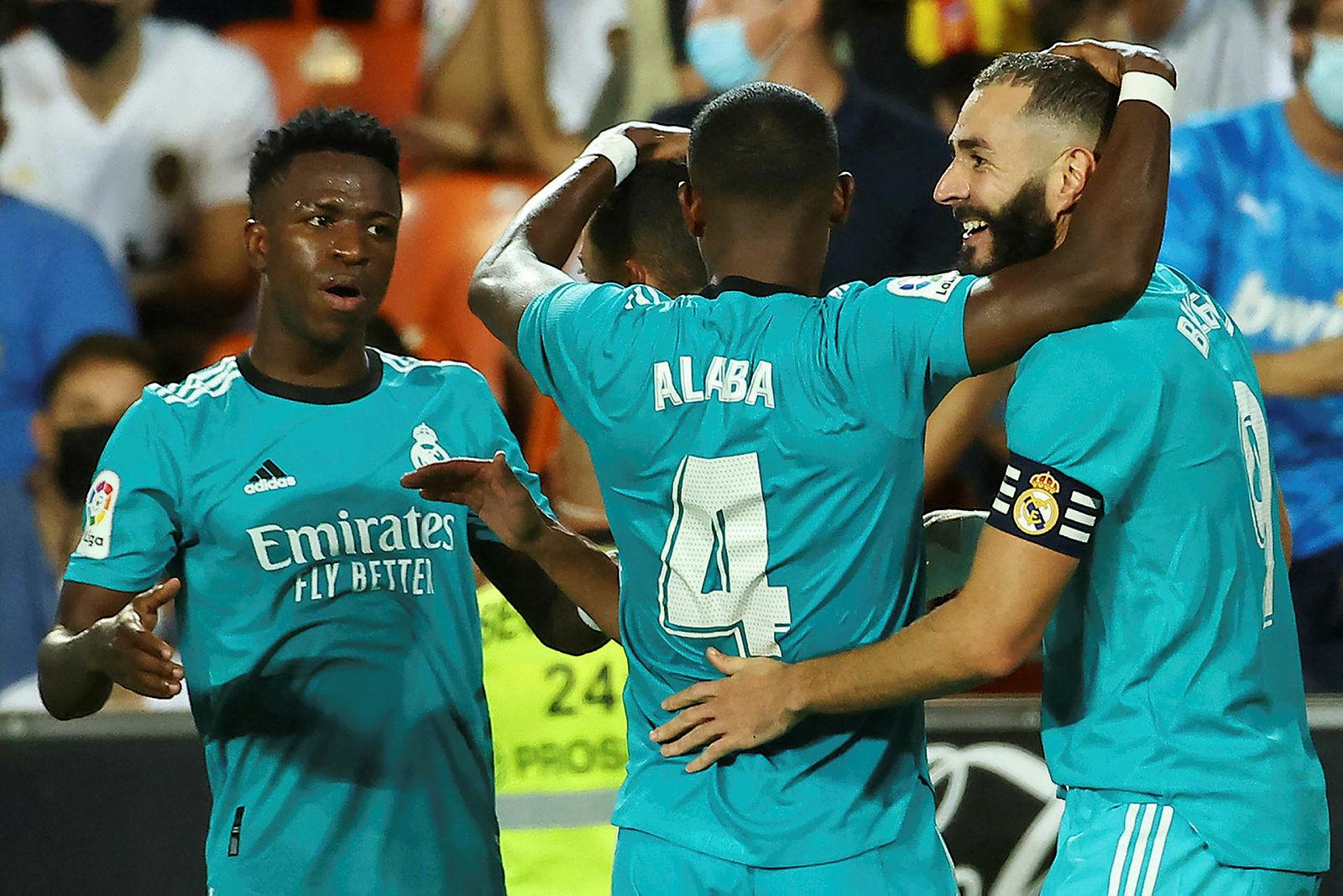 Real Madrid geriden geldi! Valencia 1-2 Real Madrid (MAÇ SONUCU-ÖZET)