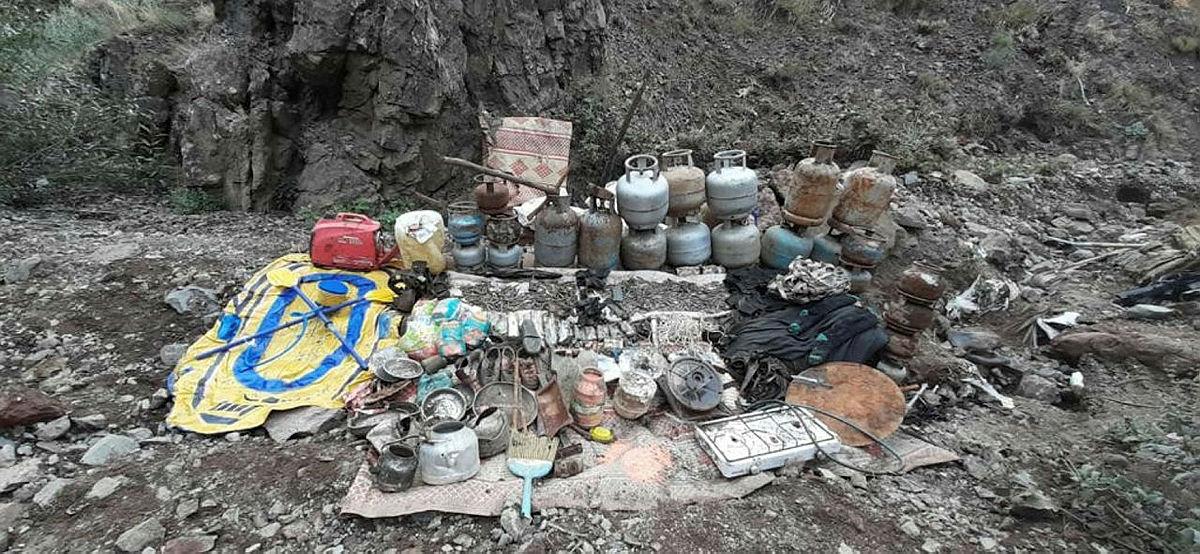 Tuncelide PKKya darbe! Teröristlerin kullandığı 5 odalı sığınak imha edildi