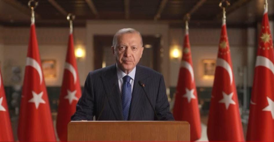 Son dakika: Başkan Erdoğan Küresel Kovid-19 Zirvesine video mesaj ile katıldı