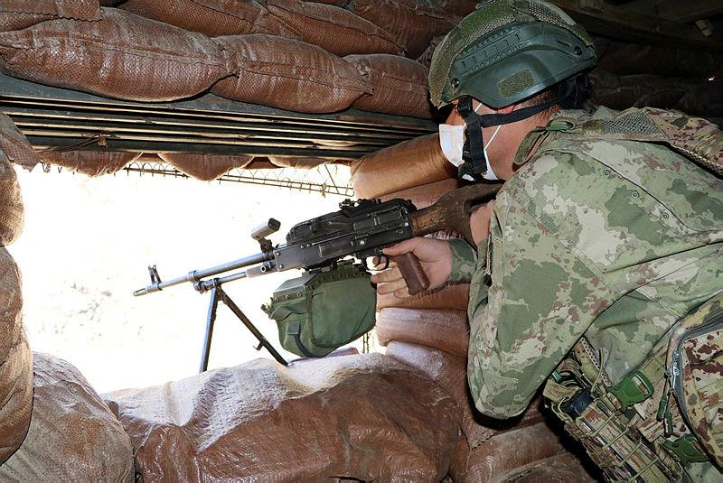 Hudut Kartalları sınırda göz açtırmıyor! Mehmetçik vatan nöbetinde