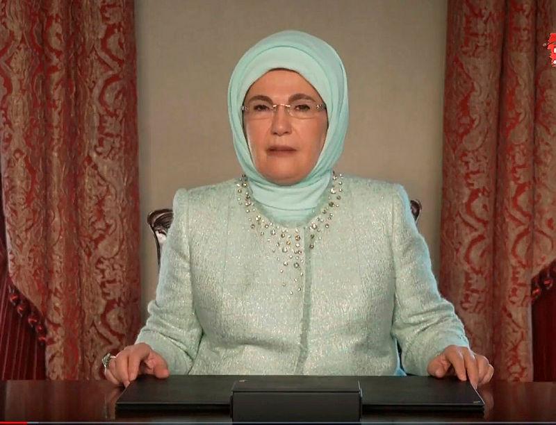 Emine Erdoğandan Paris Anlaşması paylaşımı