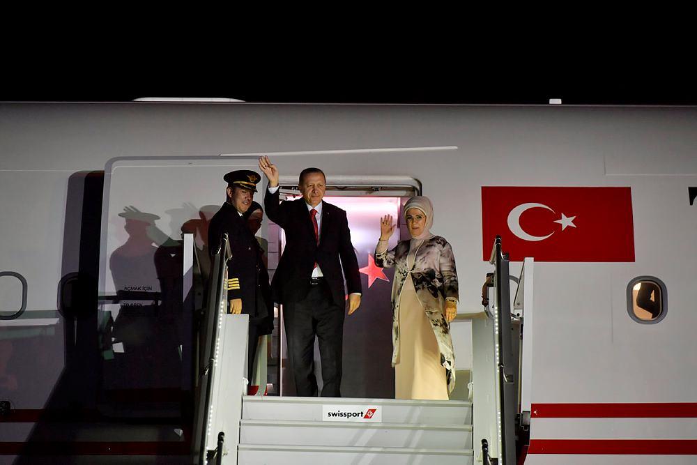 Başkan Erdoğan Angola'ya ulaştı