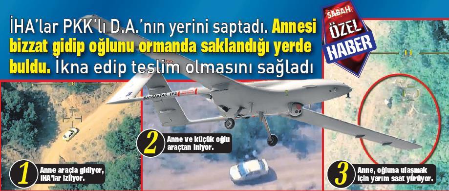 Oğlunu PKK'dan elleriyle kurtardı!