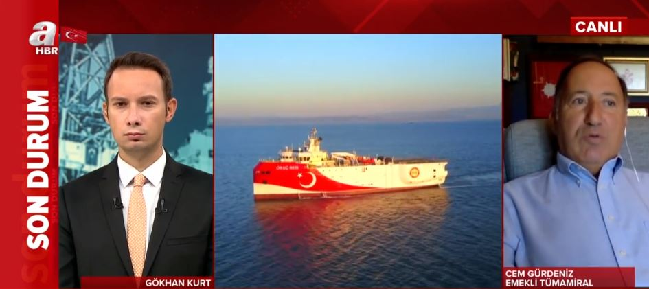 Son dakika: Doğu Akdeniz'de Navtex düellosu nasıl sonuçlanacak? 12 mil hamlesi ne anlama geliyor? Emekli tümamiral Cem Gürdeniz'den A Haber'de flaş öneri: Biz de uçaklarımızı...