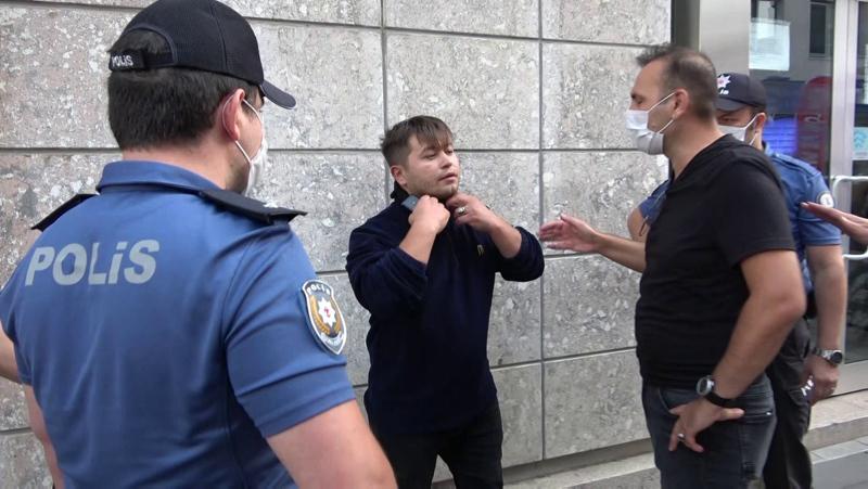 Tuzla'da polisleri tehdit eden zanlının ilk ifadesi ortaya çıktı