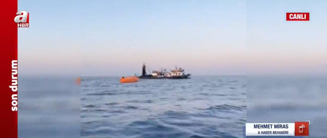 Son dakika: Yunanistan yük tankeri Türk balıkçı teknesine çarptı! Cansız bedenlere ulaşıldı