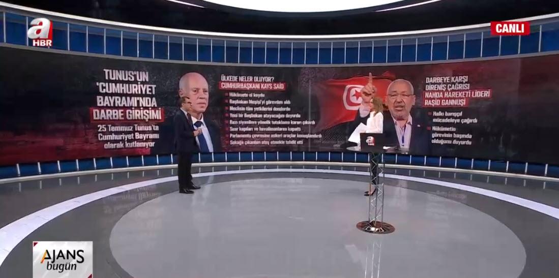Tunus'ta neler oluyor? Darbenin arkasında Birleşik Arap Emirlikleri var! A Haber'de perde arkasını anlattı