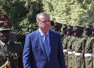 Cumhurbaşkanı Erdoğan Ugandada