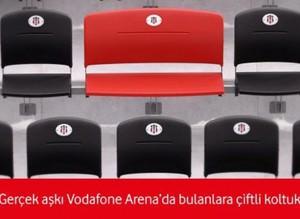 Çılgın Beşiktaş taraftarına çılgın koltuklar!