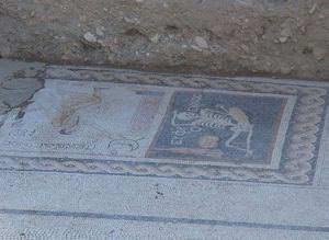 Mozaiğin tercümesi bitti! Bakın mozaikte ne yazıyor
