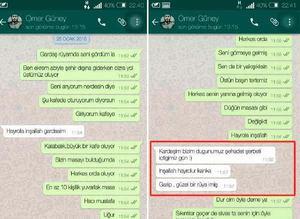 Sehidin duygulandıran Whatsapp mesajları!