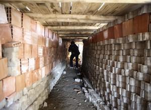 Teröristler İdilde tünel inşa etti