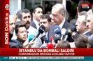 Cumhurbaşkanı Erdoğan saldırıyla ilgili konuştu