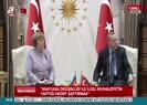 Erdoğan'dan Merkel'e ders gibi yanıt