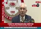 YSK Başkanı Güven: Anayasa değişikliği 16 Nisan'da yapılacak