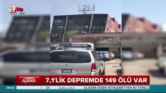 Meksika'da 7,1 şiddetinde depremle sallandı