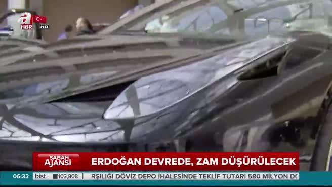 Erdoğan devrede MTV zam oranı düşürülüyor