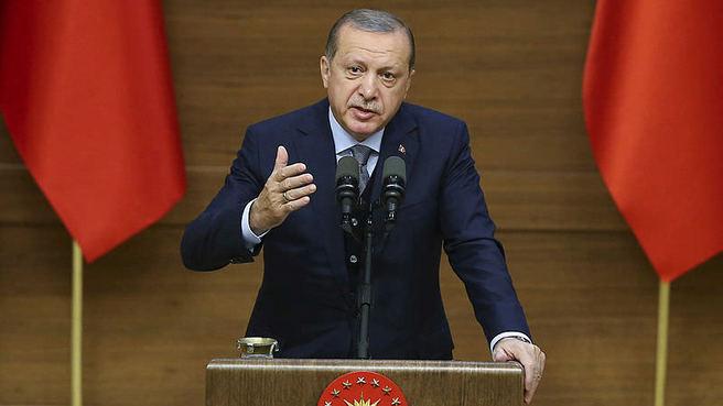 Erdoğan: Sen hangi hakla 'Kerkük benim' diyorsun?
