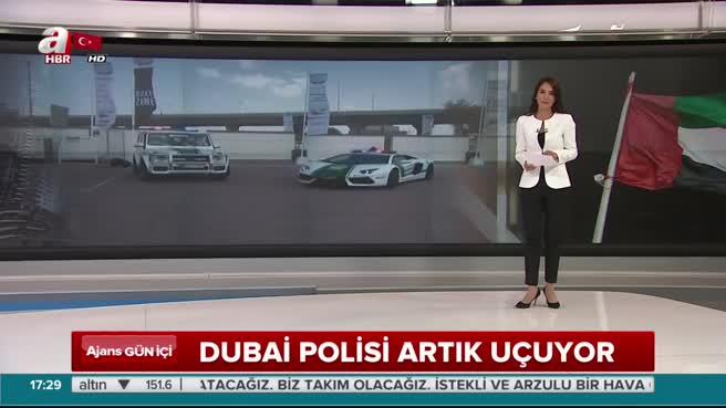 Dubai polisi artık uçuyor