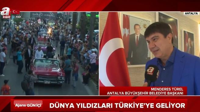 Dünya yıldızları Türkiye'ye geliyor