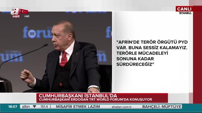 Erdoğan'dan Almanya'ya PKK göndermesi