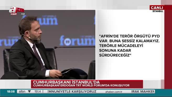 Erdoğan: Ölür müsün öldürür müsün