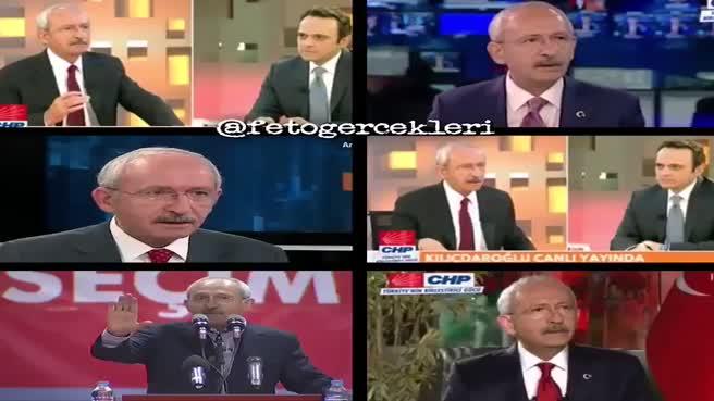 FETÖ'nün siyasi ayağı Kemal Kılıçdaroğlu!
