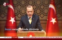 Erdoğan'dan duygulandıran şiir