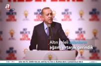 Erdoğan - Yüreğimiz topraktan aldı hızını