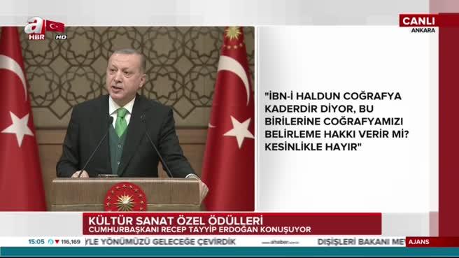Cumhurbaşkanı Erdoğan: Dağ taş demeden mücadelemiz sürüyor