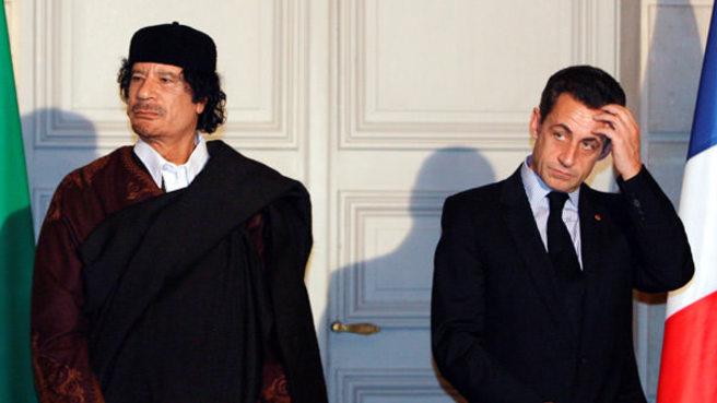 Sarkozy, Kaddafi'den 50 milyon euro aldı iddiası