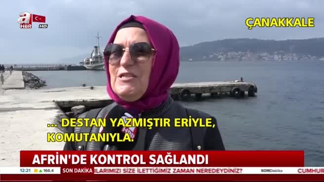 Halktan Mehmetçiğe büyük destek