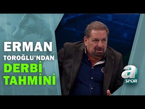 Erman Toroğlu'ndan Beşiktaş-Galatasaray Derbisine Flaş Tahminler / Takım Oyunu / 16.01.2021